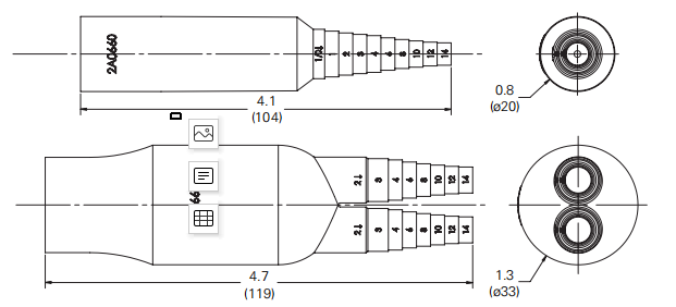 HEB-AA Bussmannfuse holders size.png
